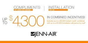 Find JennAir Rebates