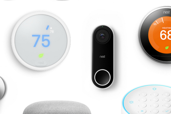 Bluffton Nest Thermostat Installes